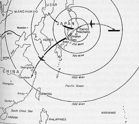 أسلحة صنعت الحدث - صفحة 13 Doolittle_raid_1942